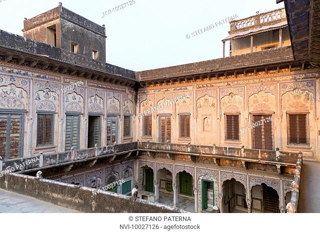 Sneh Ram Lada Haveli, traditional townhouse, Mandawa, Rajasthan, India