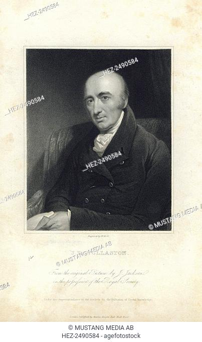 William Hyde Wollaston, English chemist and physicist, early 19th century(?). Wollaston (1766-1828) discovered two chemical elements, palladium and rhodium