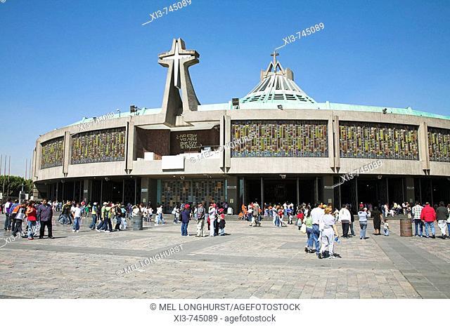 Basilica de Nuestra Senora de Guadalupe, Our Lady of Guadalupe, Mexico City, Mexico