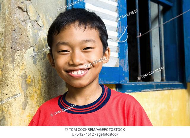 Boy in Kampot, Cambodia