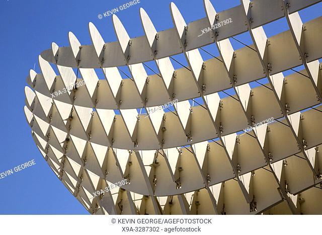 Setas - Metropol Parasol; Seville; Spain