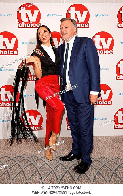 The TV Choice Awards 2016 at the Dorchester - Arrivals Featuring: Ed Balls, Katya Jones Where: London, United Kingdom When: 05 Sep 2016 Credit: Lia Toby/WENN