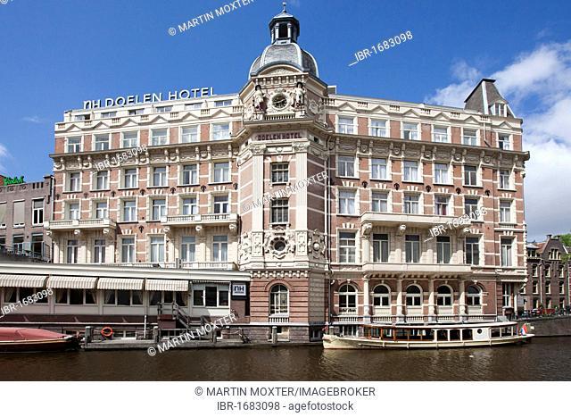 Hotel NH Doelen on Nieuwe Doelenstraat, Amsterdam, Holland, Netherlands, Europe