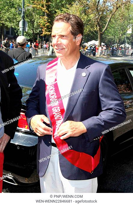 2015 West Indians Day Parade in Brooklyn Featuring: Gov. Andrew Cuomo Where: Brooklyn, New York, United States When: 07 Sep 2015 Credit: PNP/WENN.com
