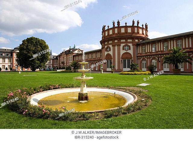 Schloss Biebrich Wiesbaden Hesse Germany