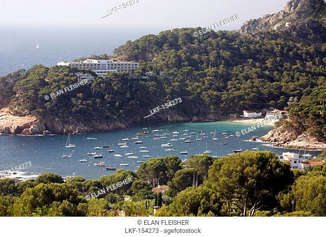 Sea view, Aiguablava, Costa Brava, Catalonia, Spain