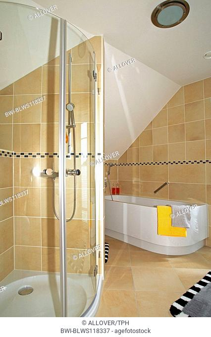 single family home inside, bathroom