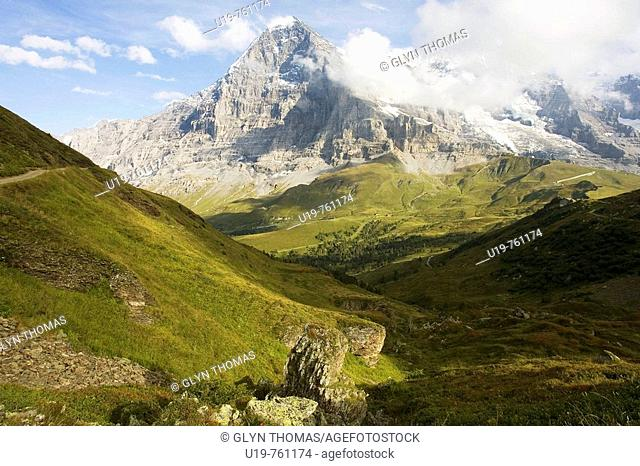 North face of the Eiger, Bernese Oberland, Switzerland