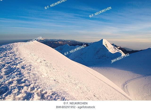 Illimani peak, Bolivia, Andes, Cordillera Real