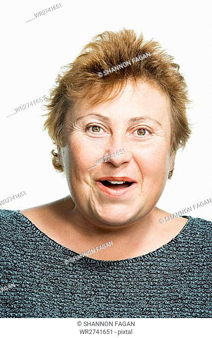 Portrait of a mature adult woman