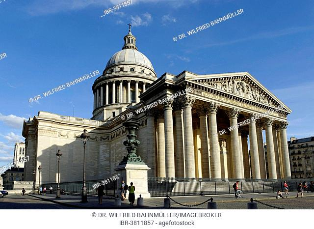 Pantheon, Rue Soufflot, Sorbonne, 5th Arrondissement, Latin Quarter, Paris, France