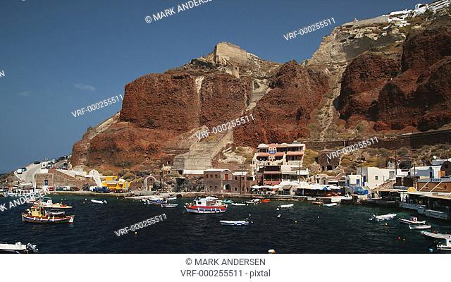 Greek harbor