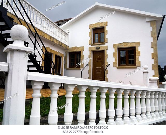 Big house in Quejo. Santander. Cantabria. Spain. Europe