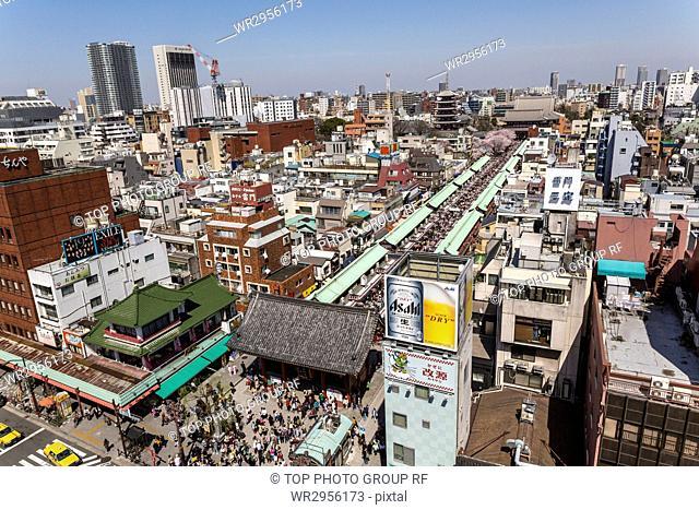 City view of Asakusa, Tokyo, Japan
