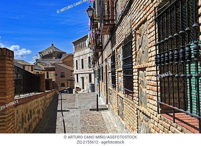 Popular house, Toledo, Spain