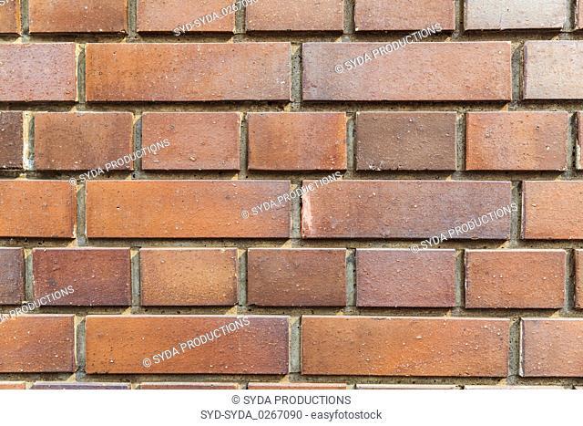 close up of brick wall texture