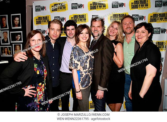 Opening night of The Undeniable Sound of Right Now at the Rattlestick Theater - Arrivals. Featuring: Laura Eason, Daniel Abeles, Brian Miskell, Margo Seibert
