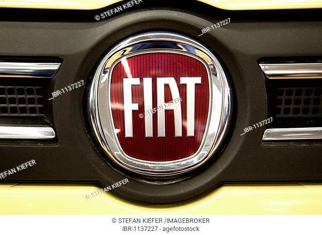 Fiat emblem on a car