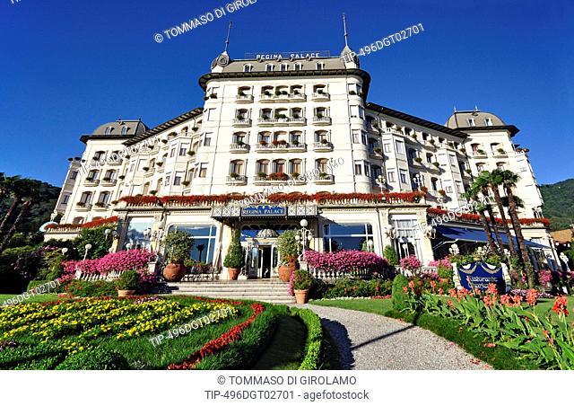 Italy, Piedmont, Stresa, Hotel Regina Palace