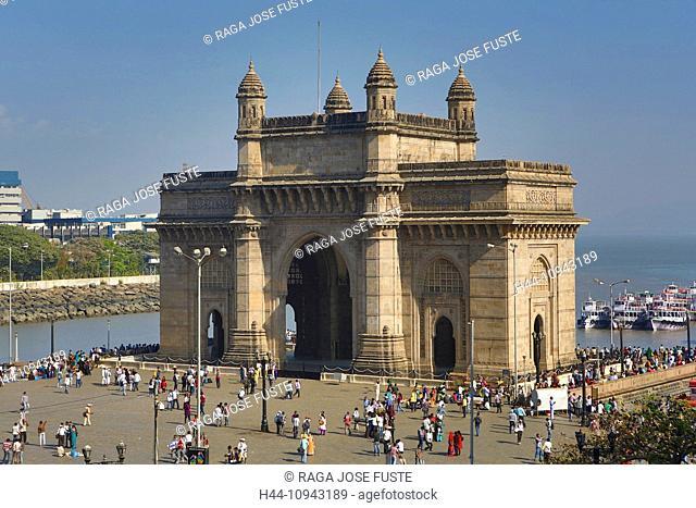 India, South India, Asia, Maharashtra, Mumbai, Bombay, City, Colaba, District, Gateway Of India, South India, Building, Gateway, arch, history, symbol, district