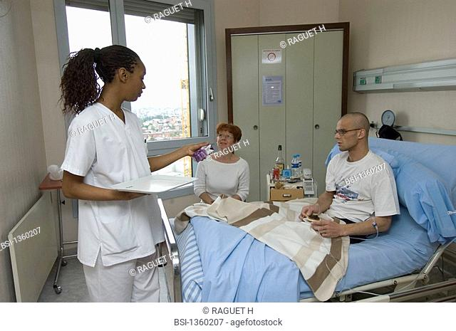 The pictures of this photo essay can be used only to illustrate cancer. Photo essay from the Gustave-Roussy Institute, France. Anti-cancer center