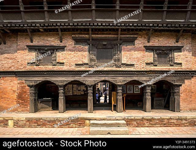 Taleju Temple at Durbar Square in Lalitpur (Patan), Kathmandu valley, Nepal