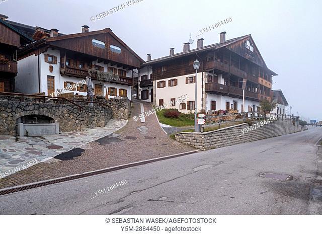 Sauris, Province of Udine, region Friuli-Venezia Giulia, Italy, Europe