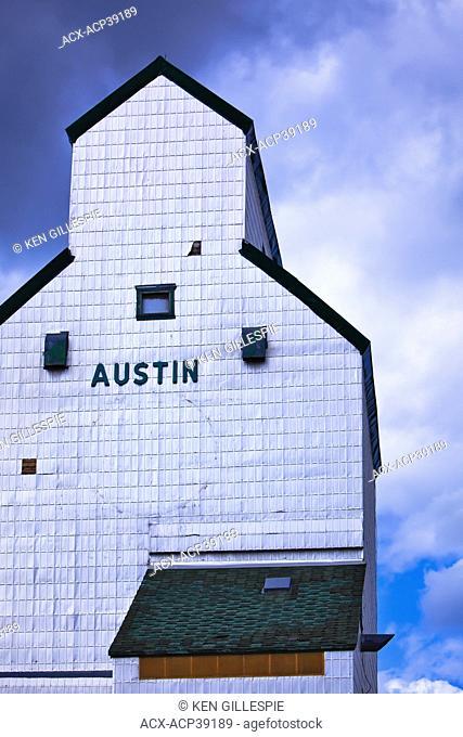 Grain Elevator, Austin, Manitoba, Canada
