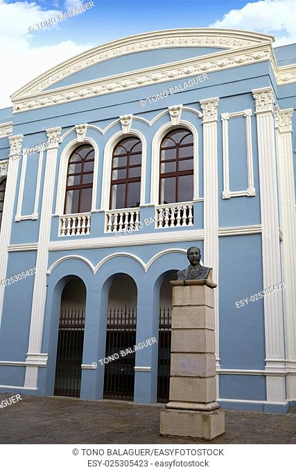 Zamora Ramos Carrion theater and Diputacion buiding in Spain