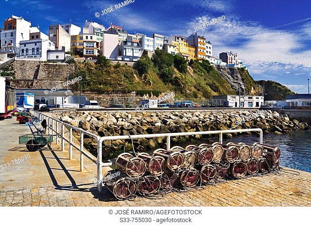 Malpica. Provincia de A Coruña. Galicia. Spain
