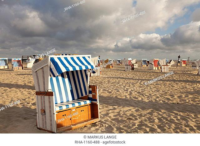 Pleasing Beach Chair Blue White Striped Stock Photos And Images Age Caraccident5 Cool Chair Designs And Ideas Caraccident5Info