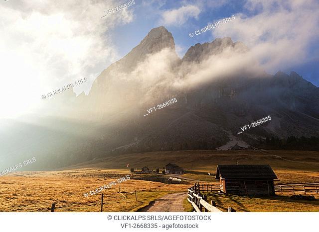 Sass de Putia/Peitelerkofler, Dolomites, South Tyrol, Bolzano, Italy