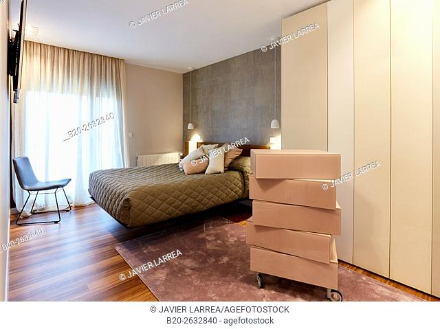 Bedroom, Interior decoration, Home