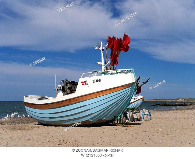 fishing boat in denmark