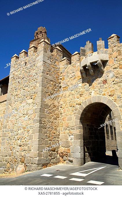 Puerta de Santa Teresa, Avila, UNESCO World Heritage Site, Spain