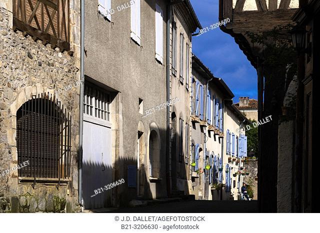 France, Occitanie, Haute Garonne, at Saint Bertrand de Comminges. Pilgrimage way to Santiago de Compostela