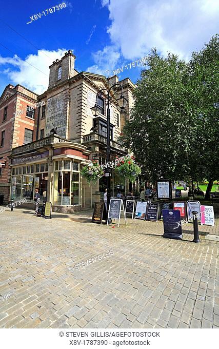 Slug and Lettuce Bar, Montpelier Quarter, Harrogate, North Yorkshire, England, UK, Europe