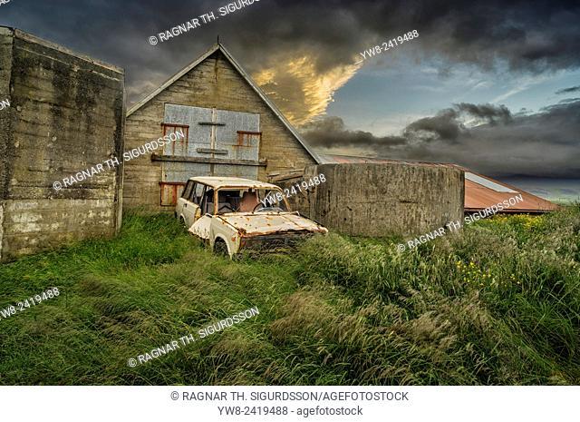 Old Farmhouse, Snaefellsnes Peninsula, Iceland