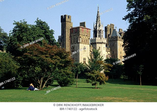 Cardiff Castle, Cardiff, Wales, United Kingdom, Europe