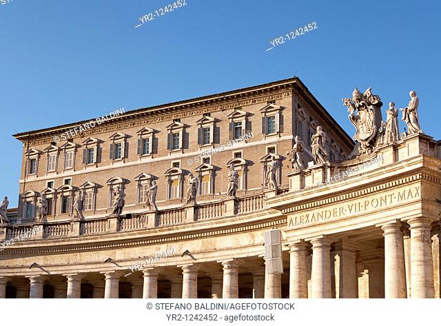 The Pope's residence, Vatican city, Rome, Italy