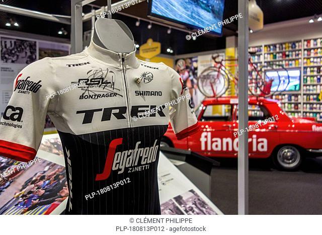 Centrum Ronde van Vlaanderen / Tour of Flanders Center, museum dedicated to the Tour of Flanders road cycling race, Oudenaarde, Belgium
