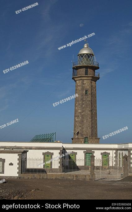 Orchilla lighthouse. Frontera Rural Park. El Pinar. El Hierro. Canary Islands. Spain