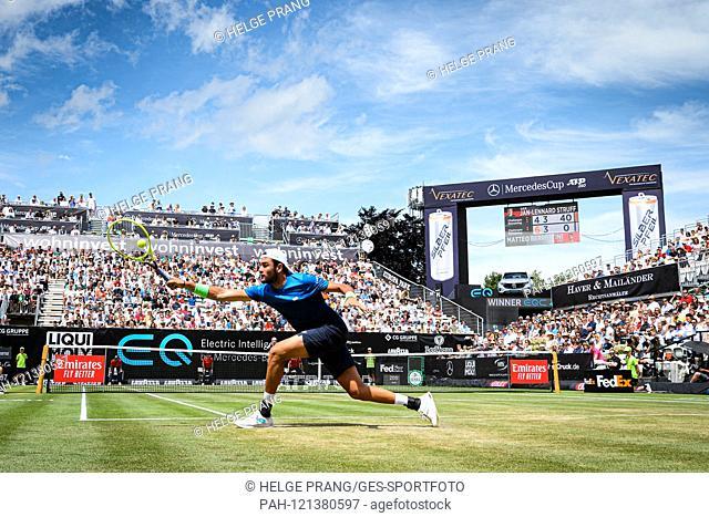 Winner in the semi-final and finalist: Matteo Berrettini (ITA). GES / Tennis / ATP Tour 250: MercedesCup 2019, 15.06.2019 Tennis ATP Tour 250: MercedesCup 2019
