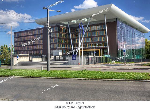 Agora, Council of Europe, Strasbourg, Alsace, France, Europe
