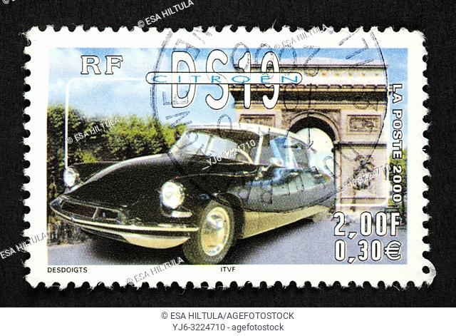 French postage stamp