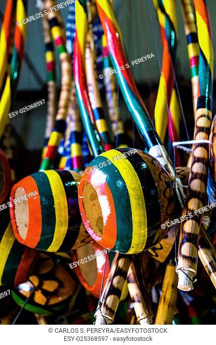 Handcrafts in Modelo market in Salvador de Bahia Brazil