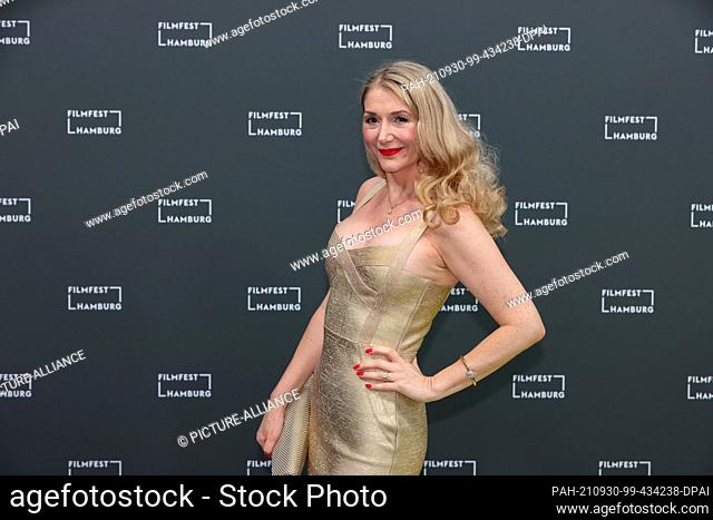 """30 September 2021, Hamburg: Actress Sandra Quadflieg will come to the 29th Hamburg Film Festival, which will open with a screening of the film """"""""Große..."""