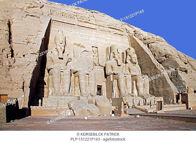 Abu Simbel Temple of Ramesses II, Nubia, southern Egypt