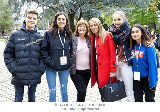 Maria Vallet-Regi (King Jaime I Prize for Basic Research in 2018), 10th edition of 'Top @ DIPC-Zientziarekin Solasean', organized by the Donostia International...