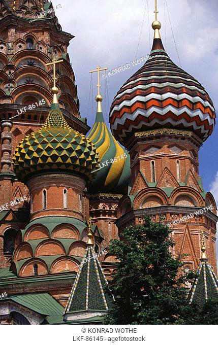 St. Basil's Cathedral, Astrodomes, Moscow, Russia